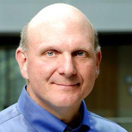 Steve Ballmer Headshot