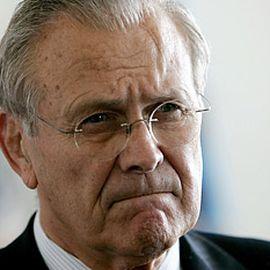 Donald Rumsfeld Headshot
