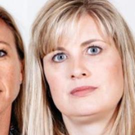 Stacy Galbraith and Edna Hendershot Headshot