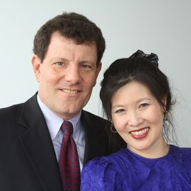 Nicholas Kristof & Sheryl WuDunn Headshot