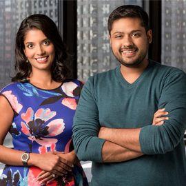 Shradha Agarwal and Rishi Shah Headshot